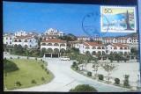 CHINA - TURISM. ZHUHAI.  ILUSTRATA MNH CU TIMBRU PT. MAXIMA (C.P.2)
