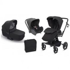 Carucior Quad System 3 in 1 Total Black - Carucior copii 2 in 1 Inglesina