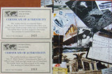 "SOMALIA - DEZASTRUL ""TITANIC"",  2 X 1 M/SH, CU CERTIF., 2000, NEOBLIT.  - WS 69A"