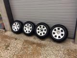 Jante aluminiu BMW cu anvelope de iarna