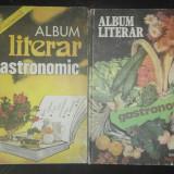 Album Literar Gastronomic (Doua Albume 1982 si 1983), bucuresti.