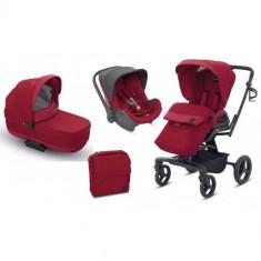 Carucior Quad System 3 in 1 Intense Red - Carucior copii 2 in 1 Inglesina