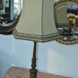 VECHI LAMPADAR DIN ALAMA CU ABAJOR DIN PANZA