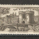 Franta.1939 23 ani Victoria de la Verdun XF.101, Nestampilat