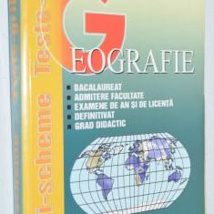 Geografie, teste grila - Posea Grigore, Ielenicz Mihai - 1999 - Carte Teste Nationale