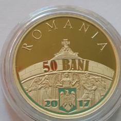 50 BANI 2017 PROOF - 100 ANI- MARESTI - MARASESTI - OITUZ - REGELE FERDINAND - Moneda Romania, Alama