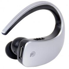 Casca Bluetooth cu Touch iUni CB05, Handsfree, Silver - Adaptor bluetooth