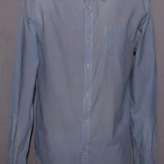 Camasa barbati Scotch & soda SCOTCH and SODA marimea S / M albastra cu dungi, Culoare: Albastru, Maneca lunga