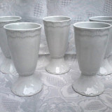 CUPE DIN PORTELAN FRANTA,, LIMOGES,, 5 bucati un singur pret !!!