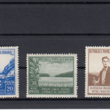 ROMANIA 1953, LP 348, LUNA PADURII SERIE MNH - Timbre Romania, Nestampilat
