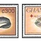 Ghana 1993 - pesti-supr rosu, serie neuzata