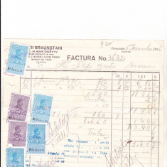 Bnk fil Lot frumos de fiscale si Fondul aviatiei pe factura 1936