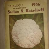 Catalogul seminteriei an 1936/107pagini
