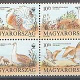 Ungaria 1994 - pasari protejate, serie in bloc neuzat