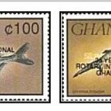 Ghana 1993 - pesti-supr negru, serie neuzata