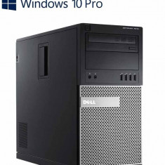 Calculatoare Refurbished Dell OptiPlex 7010 MT, Quad Core i7-3770 Gen 3, Win 10 Pro - Sisteme desktop fara monitor Dell, Windows 10