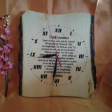 Ceas din lemn - Ceas de perete
