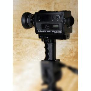 Aparat filmare Super 8 mm Bolex 551 XL Sound. Made in Japan for Bolex.
