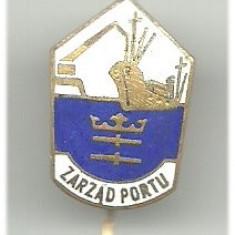 Insigna portul Gdansk, Polonia