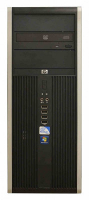 Calculator HP Compaq Elite 8000 Tower, Intel Core 2 Duo E7500 2.93 GHz, 4 GB DDR3, 250 GB HDD SATA, DVD-ROM foto