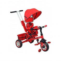 Tricicleta Copii Cu Scaun Reversibil Baby Mix Ur-Etb32-2 Rosu