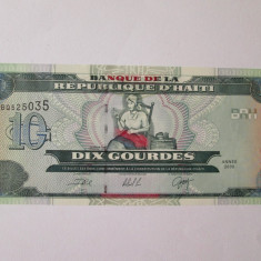 Haiti 10 Gourdes 2000 UNC - bancnota america
