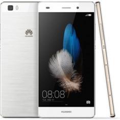 Telefon Huawei P8 Lite, Dual Sim, 16 GB, 4G, White impecabil, Alb, Neblocat