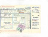 Bnk fil  1 leu timbru fiscal + 1 leu FN al aviatiei  pe factura 1936