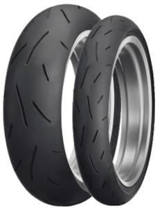 Motorcycle Tyres Dunlop Sportmax Alpha-13 ( 110/80 ZR18 TL (58W) M/C, Roata fata ) foto