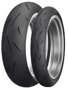 Motorcycle Tyres Dunlop Sportmax Alpha-13 ( 110/80 ZR18 TL (58W) M/C, Roata fata ) foto mare