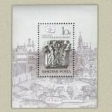 Ungaria 1987 - ziua marcii postale, colita neuzata