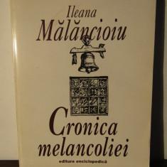 Cronica melancoliei - Ileana Malancioiu