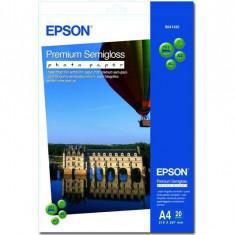Hartie foto Epson S041332, dimensiune A4, 20 coli, tip semiglossy, greutate 251g/m2 - Hartie foto imprimanta