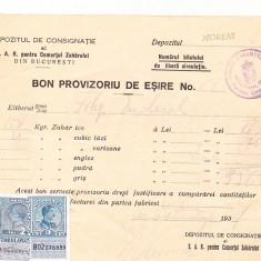 Bnk fil Timbre fiscale 2 lei Fondul aviatiei + 3 lei pe bon 1937