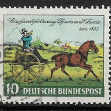 Germania 1952 - Timbre straine, Stampilat