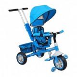 Tricicleta cu scaun reversibil Baby Mix2 Blue - Tricicleta copii