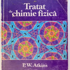 TRATAT DE CHIMIE FIZICA de P.W. ATKINS, 1996 - Carte Chimie