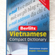 Berlitz VIETNAMESE COMPACT DICTIONARY. Vietnamese-English, English-Vietnamese