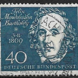Germania 1959 - Timbre straine, Stampilat