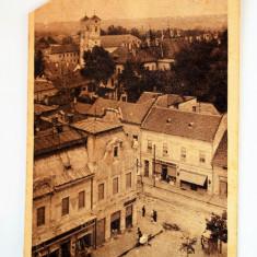 Carte postala - Lugoj - taiat - Carte Postala Banat dupa 1918, Circulata, Printata