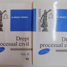 Drept procesual civil / Mihaela Tabarca 2 volume - Carte Drept procesual civil