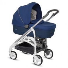 Carucior Trilogy System Comfort Touch 3 in 1 Cobalt Blue - Carucior copii 3 in 1 Inglesina