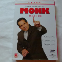 Monk - season 6 - Film serial Altele, Politist, DVD, Engleza