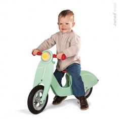 Scuter din lemn pentru copii, Janod - Bicicleta copii