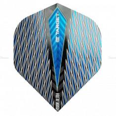 Fluturas darts Target Quartz VISION ULTRA, Albastru