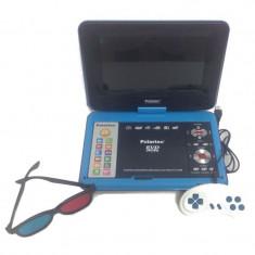 Dvd portabil Polartec, USB/SD card, baterie inclusa