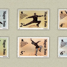 Ungaria 1988 - CM patinaj artistic, serie neuzata