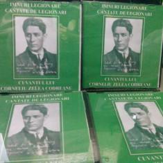 CD IMNURI SI CANTECE LEGIONARE CANTATE DE LEGIONARI CUVANTUL LUI C.Z. CODREANU - Muzica Sarbatori