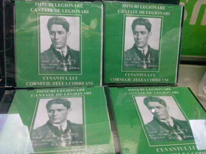 CD  IMNURI SI CANTECE  LEGIONARE CANTATE DE LEGIONARI CUVANTUL LUI C.Z. CODREANU