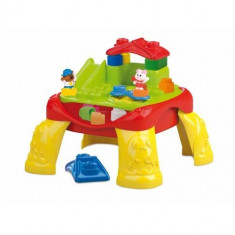 Clemmy - Masa de Joaca cu Cuburi Clementoni